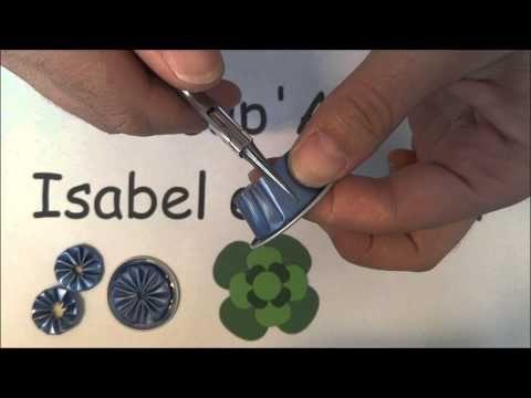 Comment découper une capsule pour faire un pendentif papillon 3D. - YouTube