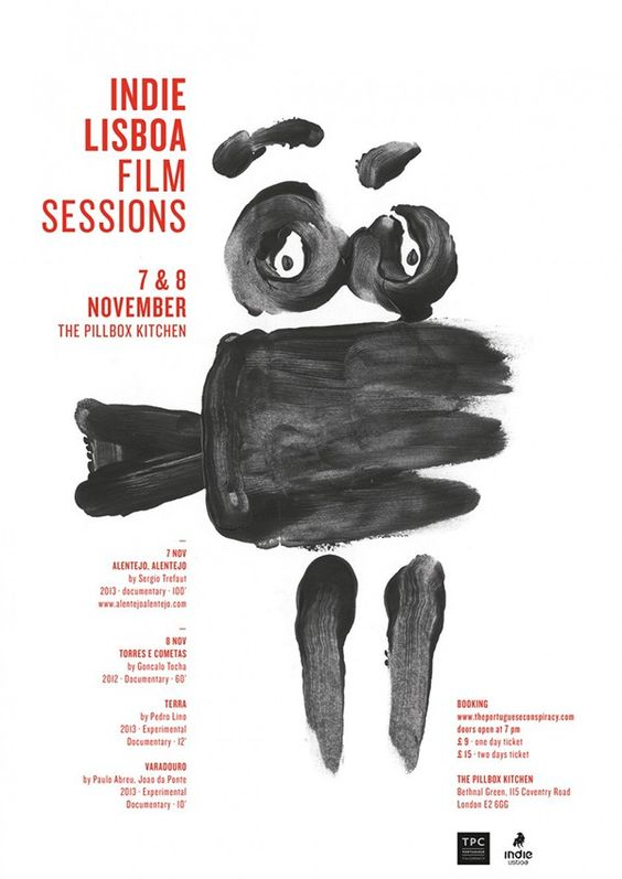 Indie Lisboa Film Sessions on Behance (sara westermann)