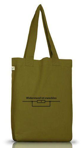 Shirtstreet24, WIDERSTAND IST ZWECKLOS, Jutebeutel Stoff Tasche Earth Positive, Größe: onesize,Leaf Green - http://herrentaschenkaufen.de/shirtstreet24/one-size-shirtstreet24-widerstand-ist-zwecklos-7