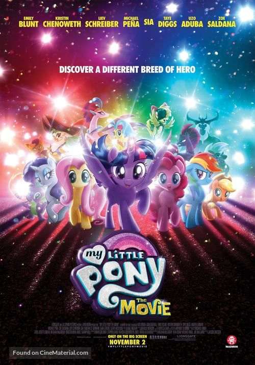 Pin On My Little Pony The Movie 2017