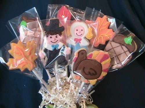 Thanksgiving recipes - cookie bouquet 8