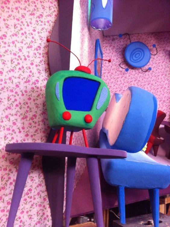 Objetos de cena - Programa infantil Dango Balango - Execução Tetê Motta e Maria Leite - 2013