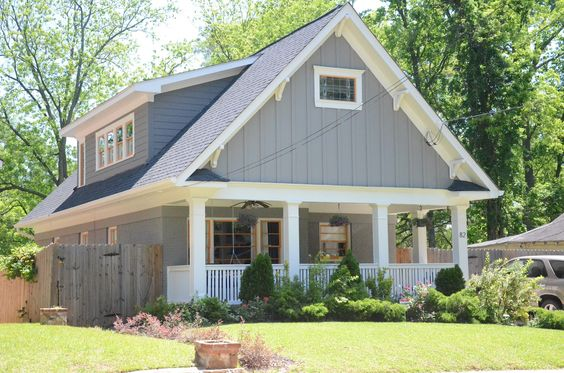 Gauntlet Gray Gray Trim And Exterior Paint On Pinterest