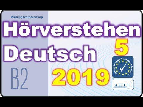 Modelltest 5 B2 Allgemein Horverstehen Deutsch Telc 15 04 2019 Youtube Deutsch Fur Den Beruf Deutsch Als Fremdsprache Deutsch