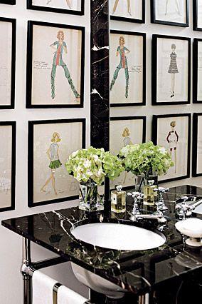 Kay Unger's Loft Bathroom