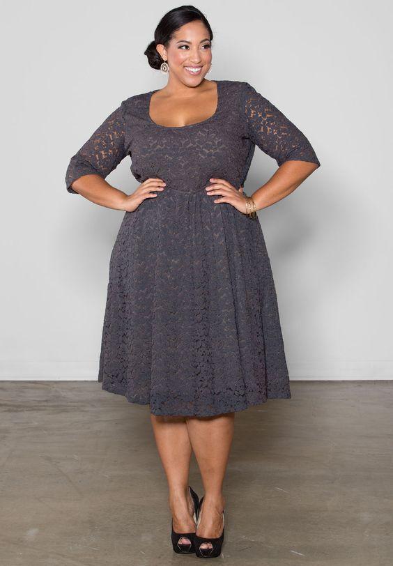Vestidos Plus size 2020: Novas tendências + 80 Modelos perfeitos!