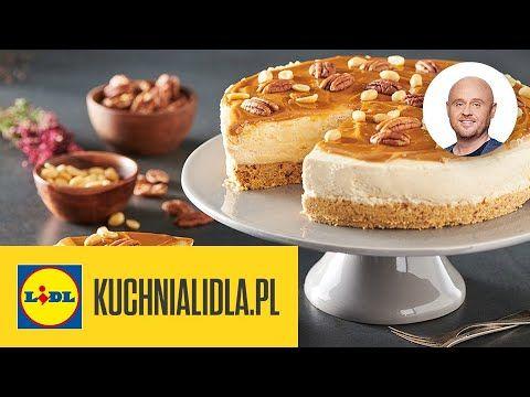 Kosmicznie Orzechowy Sernik Z Kajmakiem Na Zimno Pawel Malecki Kuchnia Lidla Youtube Food Cheesecake Desserts