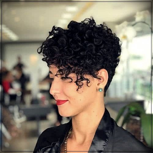 35 Curly Haircuts 2019 Curly Pixie Hairstyles Curly Pixie Haircuts Curly Hair Styles