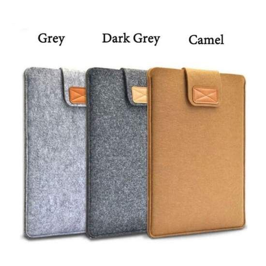 """Wool Felt Sleeve Laptop Case Cover Bag Pouch for Apple MacBook iPad Pro 12/"""" 15/"""""""