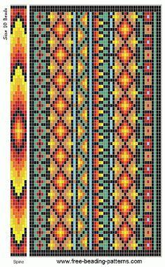 free-beading-pattern-checkbook-cover-southwestern-01