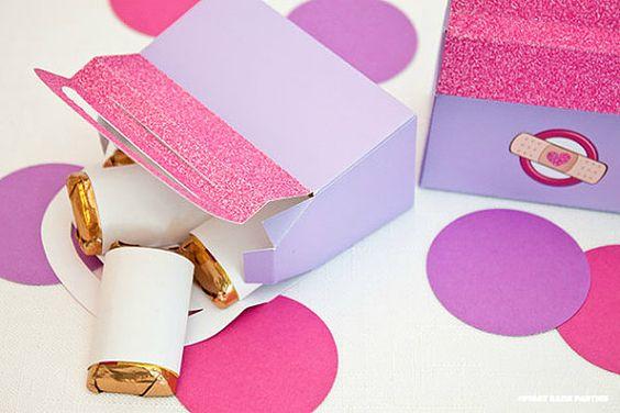 Doctor Bag  Favor Box  DIY Printable PDF by piggybankparties, $9.00
