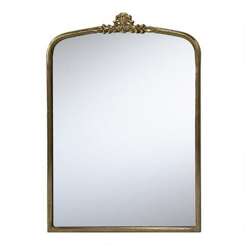 Brass Vintage Style Vanity Mirror Vintage Style Mirror Floral Mirror Target Mirrors