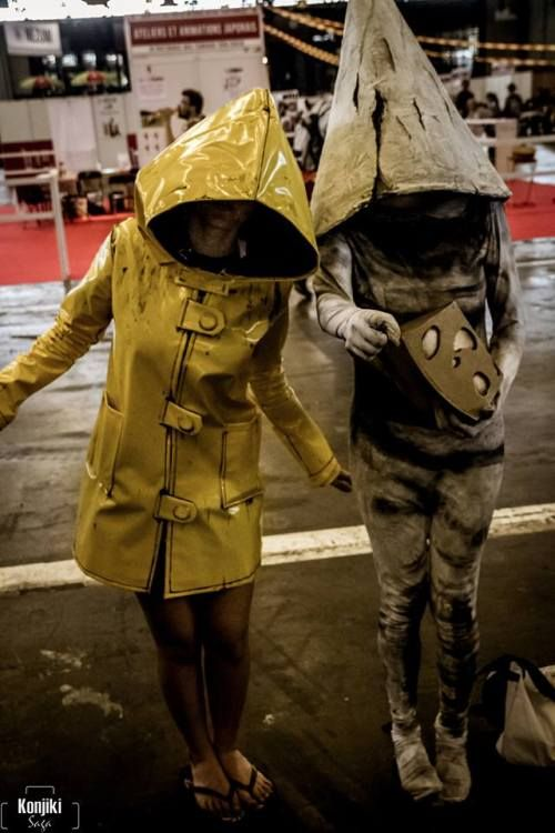 Little Nightmares Six And Gnome Cosplay Little Nightmares Fanart Nightmares Art Best Cosplay