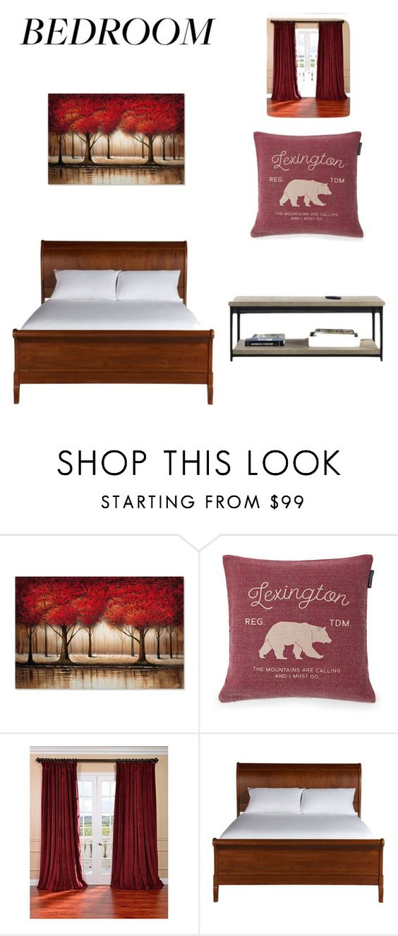 """red"" by mar7u on Polyvore featuring interior, interiors, interior design, hogar, home decor, interior decorating, Lexington, EFF y Ethan Allen"