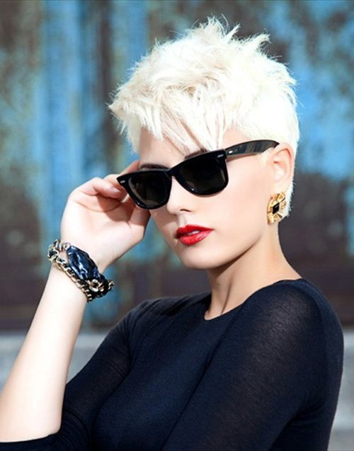 Stupendous Cool Short Hairstyles 2014 Trends And Trends On Pinterest Short Hairstyles Gunalazisus