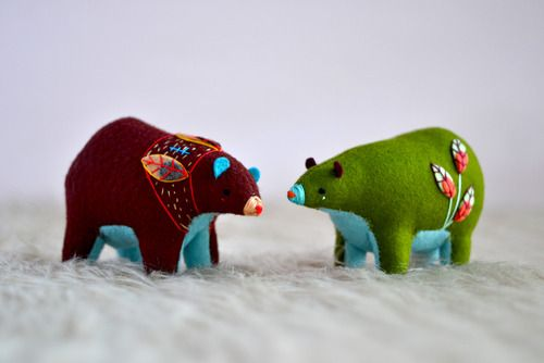 """errors-dot-albi: """" sosuperawesome: """" MountRoyalMint on Tumblr Shop """" lookit these bears. """""""