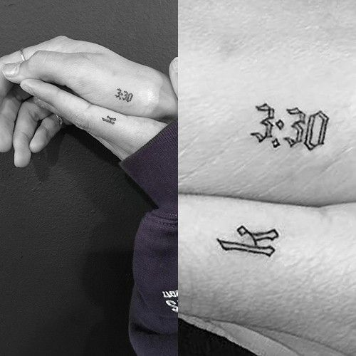 Hailey Baldwin Number Writing Finger Side Of Hand Tattoo