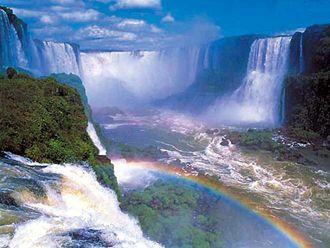 Iguazu Falls,Brazil and Argentina