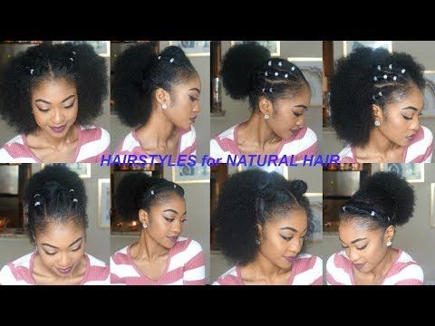 F O L L O W Kianaimani For More Natural Hair Styles Natural Hair Updo Black Natural Hairstyles