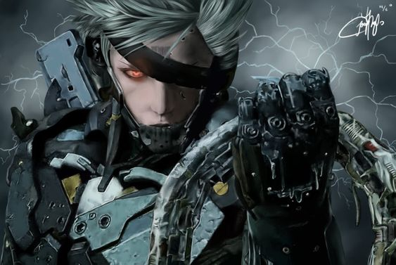 Raiden (Metal Gear Solid Rising) by josephinekazuki.deviantart.com on @deviantART