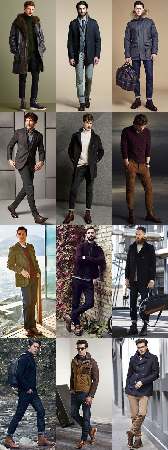 5 Classic Autumn/Winter Boot Styles: 3. Brogue Boots Outfits Lookbook Inspiration