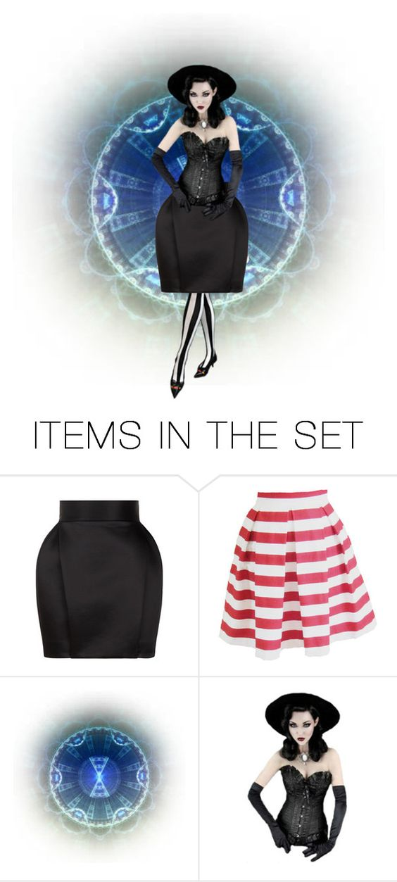 """Blue and black"" by mt3fisher ❤ liked on Polyvore featuring art"