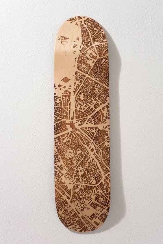 lazer etched board