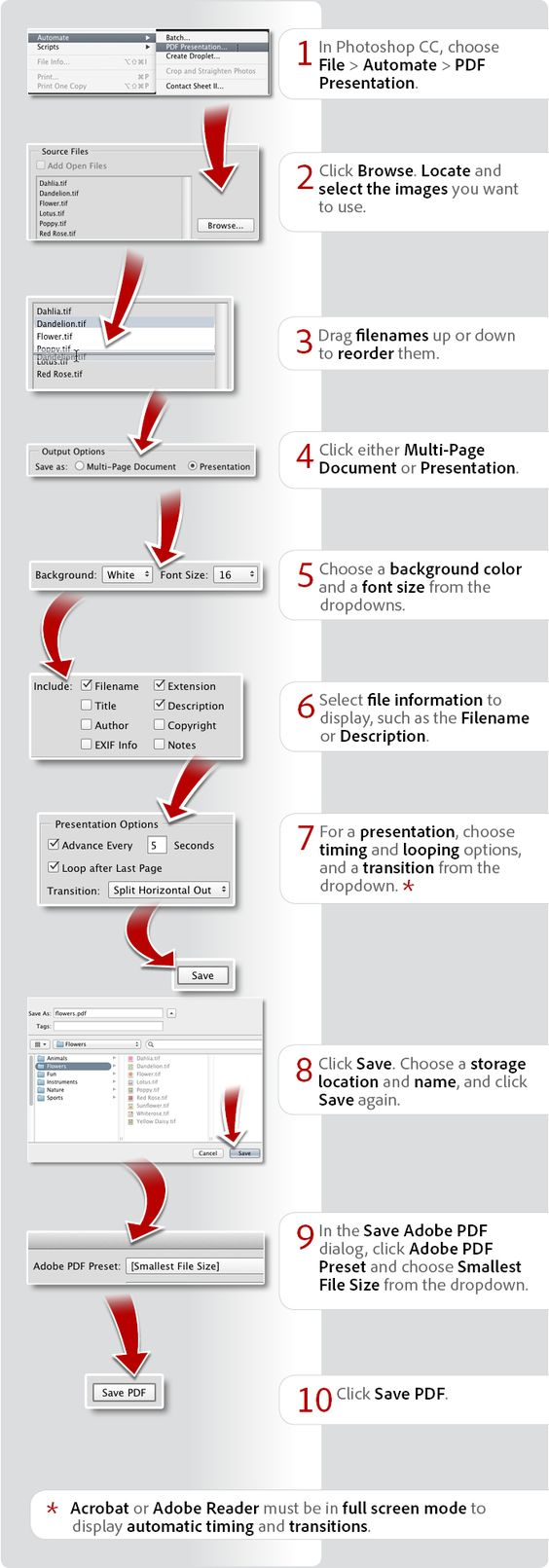 Photoshop multipage pdf