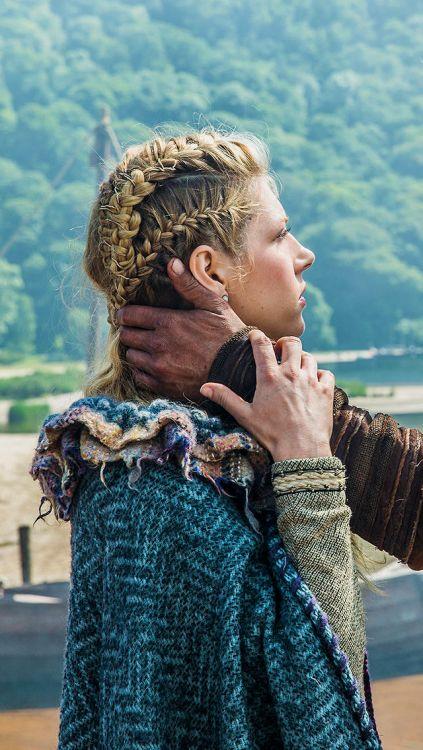 Lindo y sin esfuerzo lagertha peinados Imagen de cortes de pelo tutoriales - Lagertha | Penteados vikings, Penteados cabelo grande ...