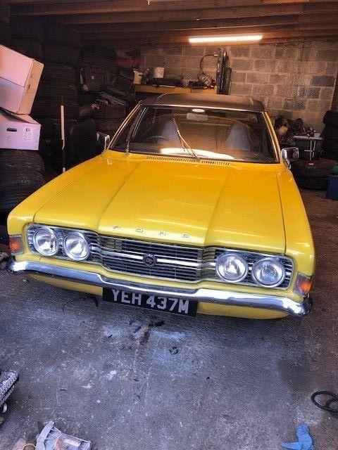 Ebay 1973 Ford Cortina 2000 Gt Mk3 Yellow Classiccars Cars
