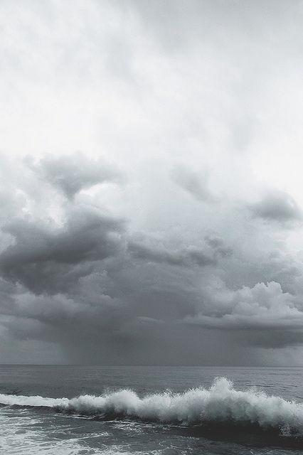 Rain out at sea by Mahin Fayaz
