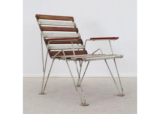 Belgian garden chair ca. 1950's