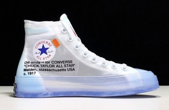 Off White Converse Chuck Taylor All Star Vulcanized Hi The 10 162204c Chuck Taylors Off White Converse Converse Chuck Taylor