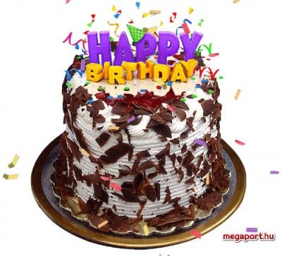 Happy Birthday Cake Gif Animation | WISHING YOU A HBD ...