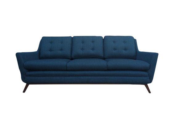 Mid Century Modern Style Scandinavian Sofa on Chairish.com