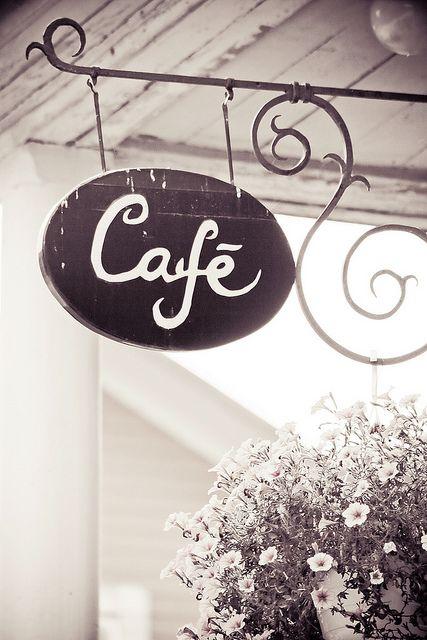 Coffee Shop by JoyHey, via Flickr Love Coffee - Makes Me Happy