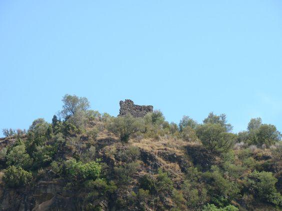 Castillo de Fanzara .Castellon .Spain .