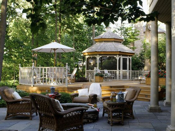 BACKYARD DREAM DECK ~ Reinvent your yard with a patio or deck that puts the life in outdoor living.http://www.hgtv.com/landscaping/dreamy-decks-and-patios/pictures/index.html
