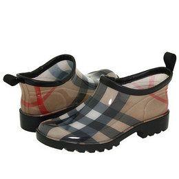 Burberry Boots for Women | Burberry Ankle Rain Shoes Women's Rain ...