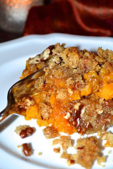 Sweet Potato Casserole with Pecan Streusel | Recipe | Potatoes ...