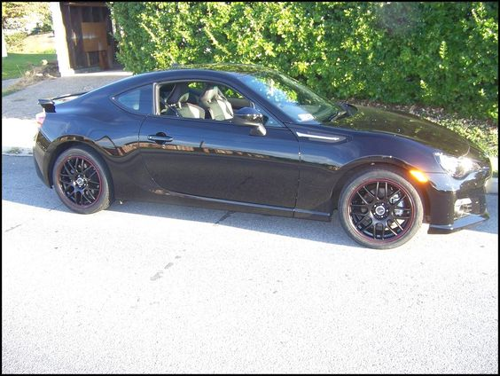 Subaru BRZ Black Cool HD ConfidenceInMotion Rvinyl