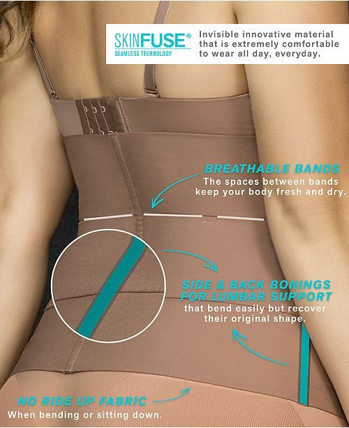 Leonisa Women S Moderate Tummy Control Invisible Waist Cincher E15792 Reviews Shapewear Women Macy S Waist Cincher Best Shapewear For Tummy Cincher