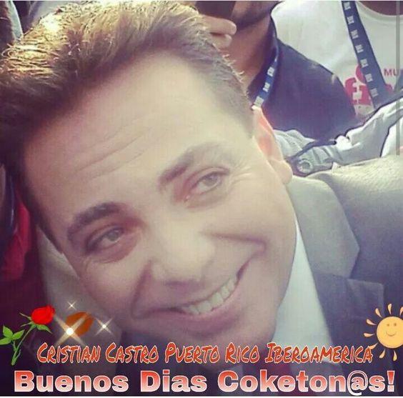 Cristian Castro Feliz y bendecida semana!!!   #Brendyz7