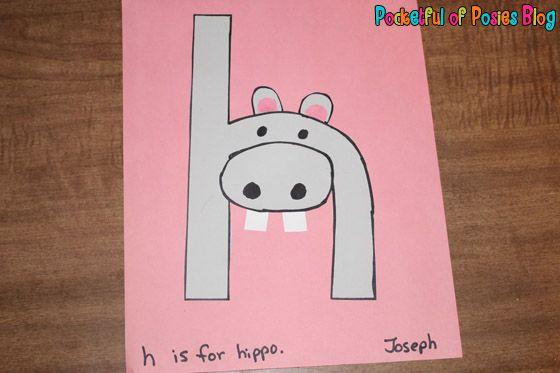 {Letter H} Hippopotamus
