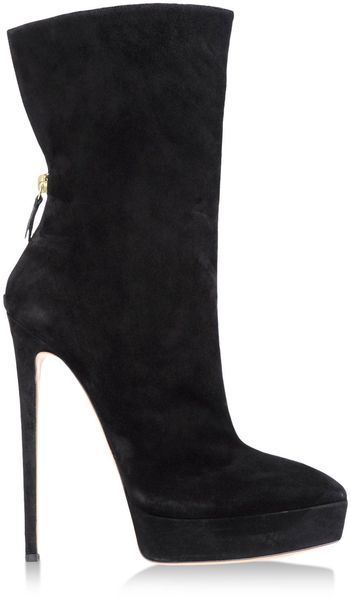 Casadei Black Ankle Boots
