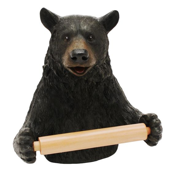 Cute Bear Wall Mounted Toilet Paper Holder