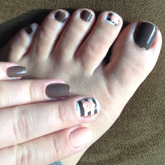 Toes to match