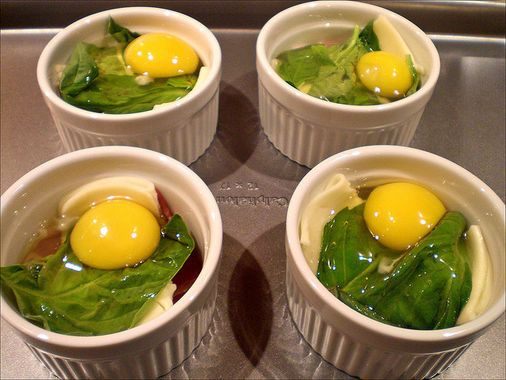 Baked Eggs -- Ready in Minutes Thanks to the Toaster Oven  http://thestir.cafemom.com/food_party/186559/10_toaster_oven_meals_made
