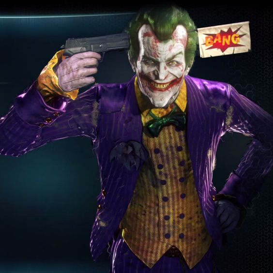 Batman Arkham Knight Batcave: Batman: Arkham Asylum: The Joker