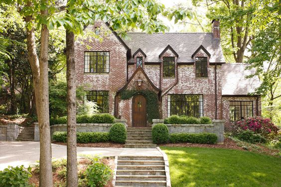 Brick home with great windows